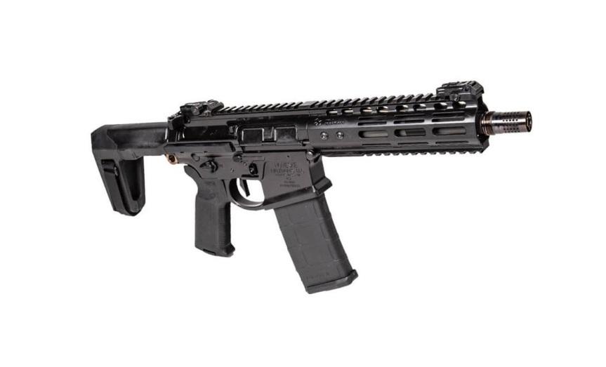 noveske rifleworks m4-pdw pistol ar15 pistol noveske barrel q honey badger stock brace q honey badger pistol. 2