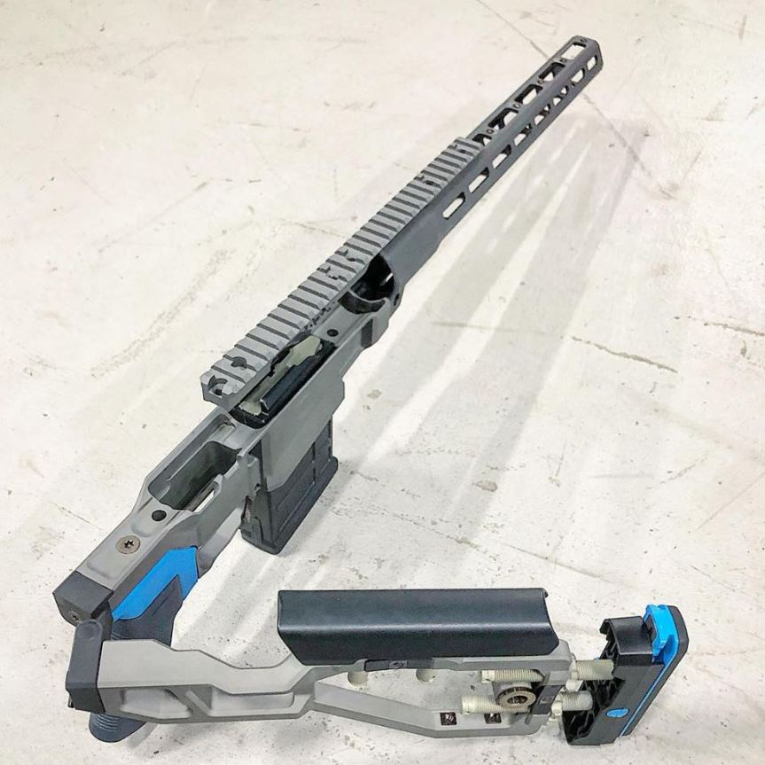 q  llc q liveqordie remington 700 chassis 700q chassis. lightest sniper rifle chassis for the rem 700 1.jpg