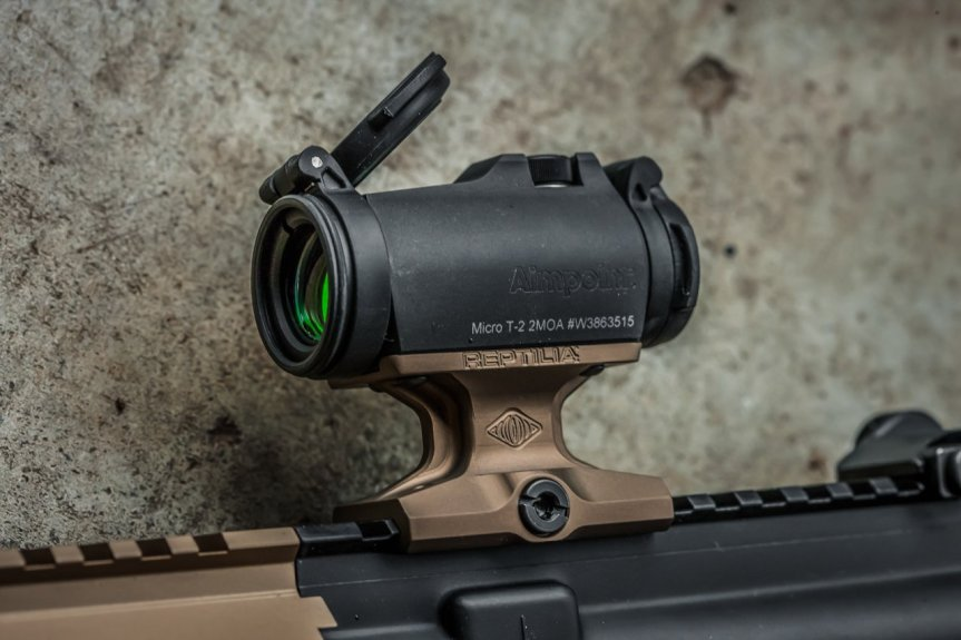 reptilia corp dot optic mounts dot mounts for the mro aimpoint lightweight mount ar15 scar mro mount 1