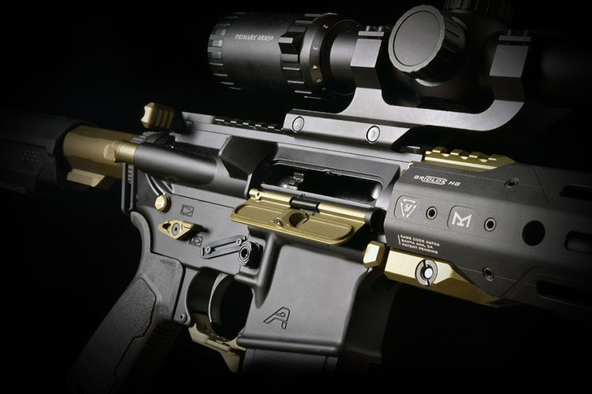 strike industries billet udc ar15 dust covers aluminum dust cover for the AR-15 platform AR-BUDC-223 3