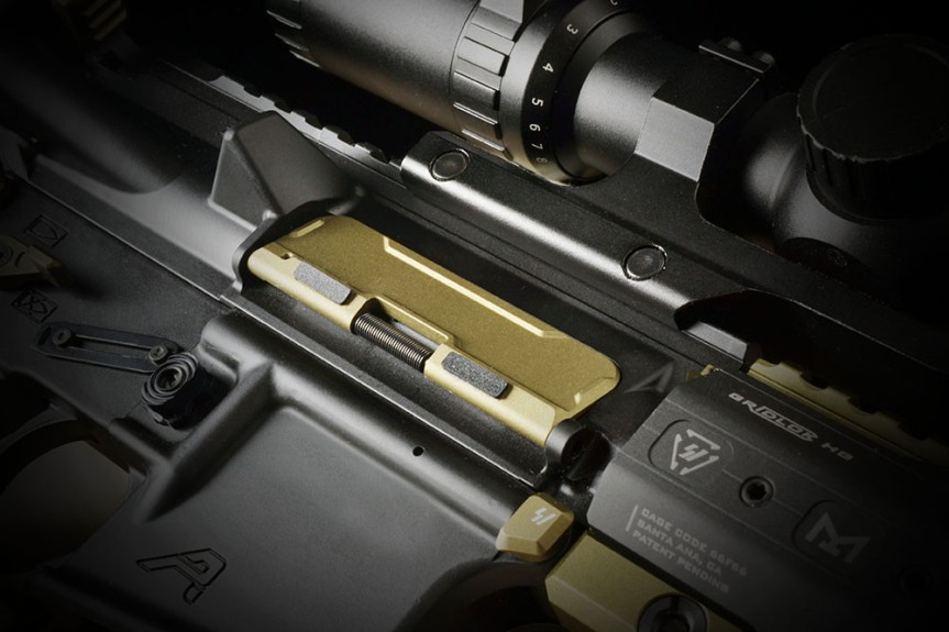 strike industries billet udc ar15 dust covers aluminum dust cover for the AR-15 platform AR-BUDC-223 4