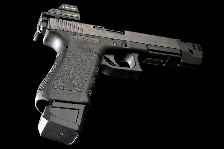 strike industries glock magazine extetnsion plus 5 glock mag SI-EMP-G9&40 3
