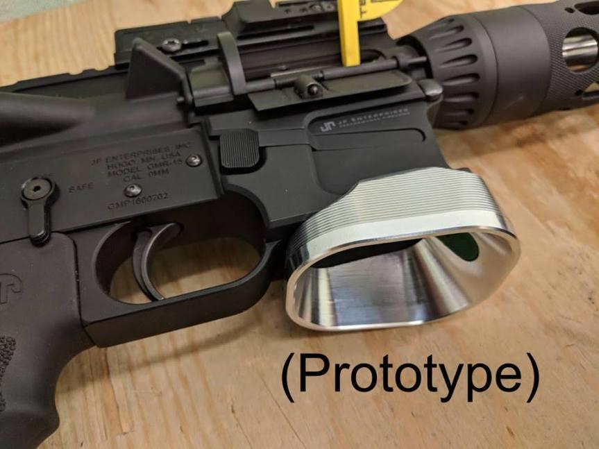 taylor freelance pistol caliber carbine flaired magwells ar-9 flaired magwell jp pcc magwells jp fattie magwell 2