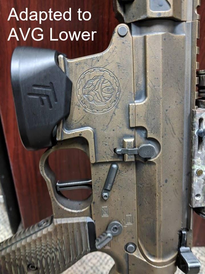 taylor freelance pistol caliber carbine flaired magwells ar-9 flaired magwell jp pcc magwells jp fattie magwell 3