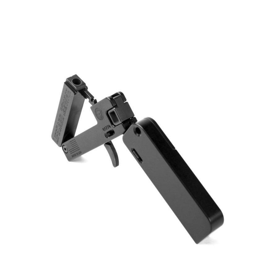 trailblazer firearms lifecard 22 magnum folding pistol in my pocket lifecard 22mr 5