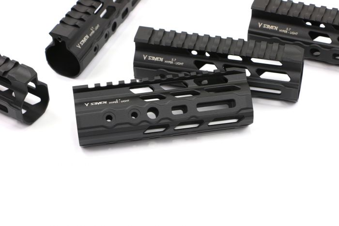 v seven weapon systems hyper-light ar15 handguard 6.5 300 black out shorty  2.jpeg