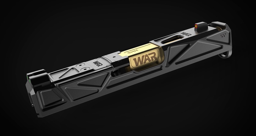 WEAPONS ARMAMENT RESEARCH LAUNCHES THE WAR G19 AFTERBURNER! CUSTOM GLOCK SLIDE!