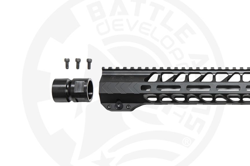 battle arms development workhorse ar15 rail ar-15 forend 15 inch 3