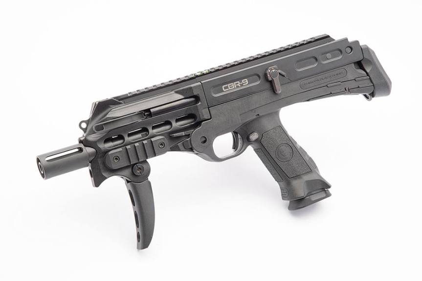 chiappa firearms cbr-9 black rhino pdw pistol a