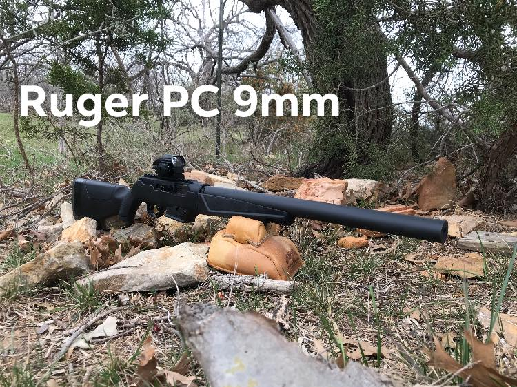 dark horse suppressors integrally suppressed Ruger PC9 carbine take down suppressor pack gun  1.jpg