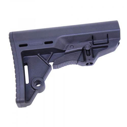 guntec usa t.e.s. stock tactical entry stock for the ar15 minimalist ar stock 4