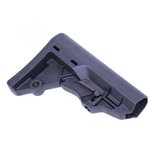 guntec usa t.e.s. stock tactical entry stock for the ar15 minimalist ar stock