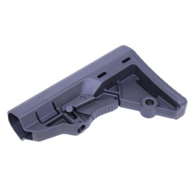 guntec usa t.e.s. stock tactical entry stock for the ar15 minimalist ar stock
