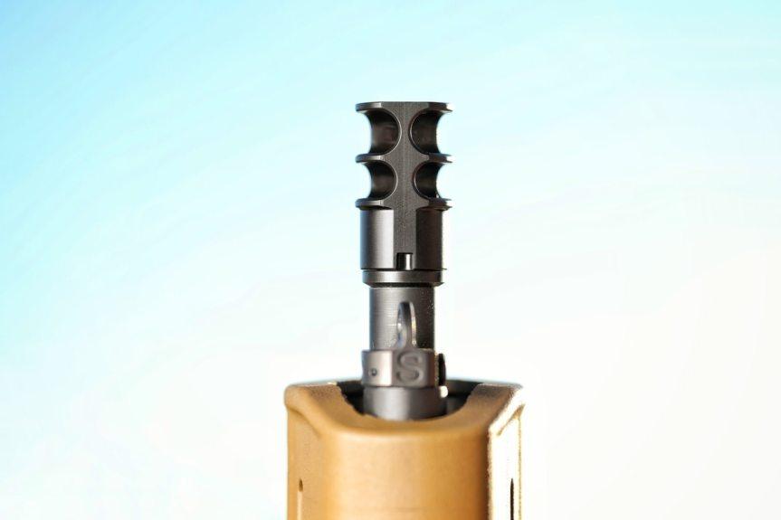 JMAC CUSTOMS SHOWS OFF NEW NEW RRD-2C 556 MUZZLE BRAKE!  4.jpg