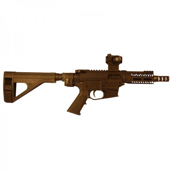 quartercircle10 mini mayhem pistol ar9 pistol ar-9 pdw pistol caliber carbine 1