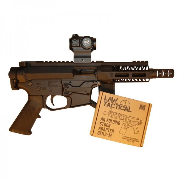 quartercircle10 mini mayhem pistol ar9 pistol ar-9 pdw pistol caliber carbine  2.jpg