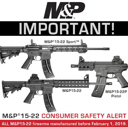 smith and wesson recall MP15-22 safety alert smashed 22lr rim fire  1.jpg