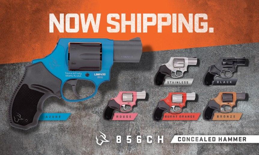 taurus usa 856 revolver pink pistol pink revolver 38 special anodized frame gun  1.jpg