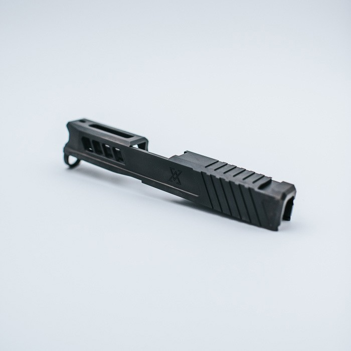 true precision glock 43 axiom slide custom glock 43 slide rmr cut for the 43x glock 48 custom 5