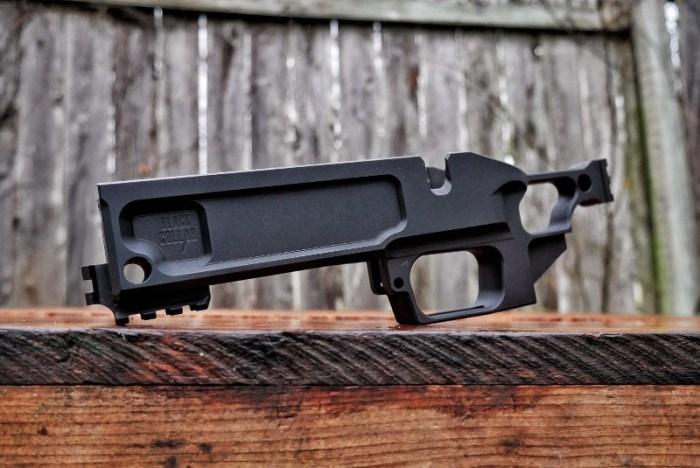 v black collar arms pork sword chassis remington 700 pistol build 458 socom pistol for hunting hogs
