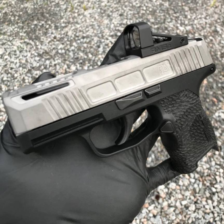 FABRICATED ARMS SHOWS OFF NEW SIG P365 CUSTOM SLIDE WORK