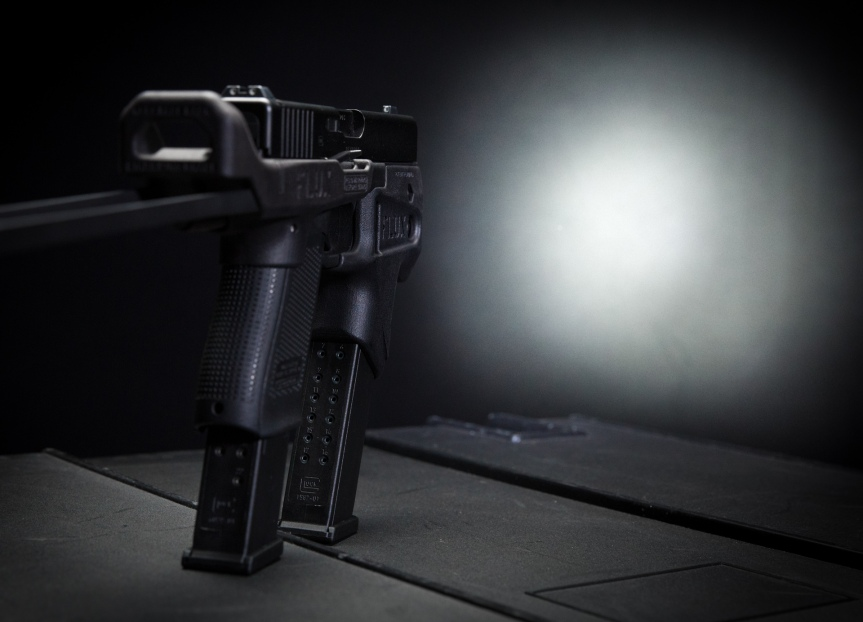 flux defense flashmag flux lightmag glock forward grip no sbr magazine holder for glock pistol glock kriss vector  2.jpg