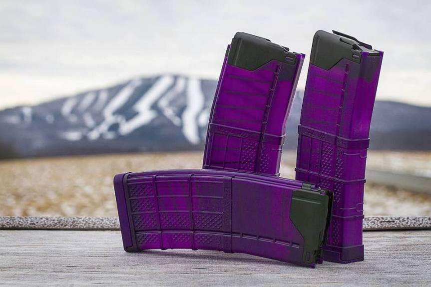 lancer systems l5awm purple translucent magazines 30 round california mags standard capacity ar15 magazines  1.jpg