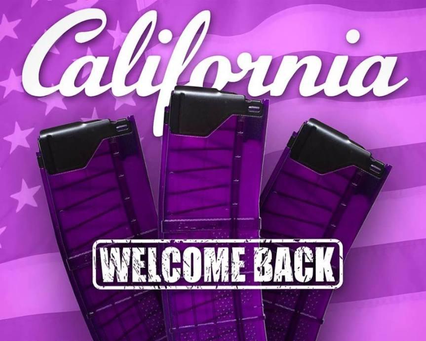 lancer systems l5awm purple translucent magazines 30 round california mags standard capacity ar15 magazines  2.jpg