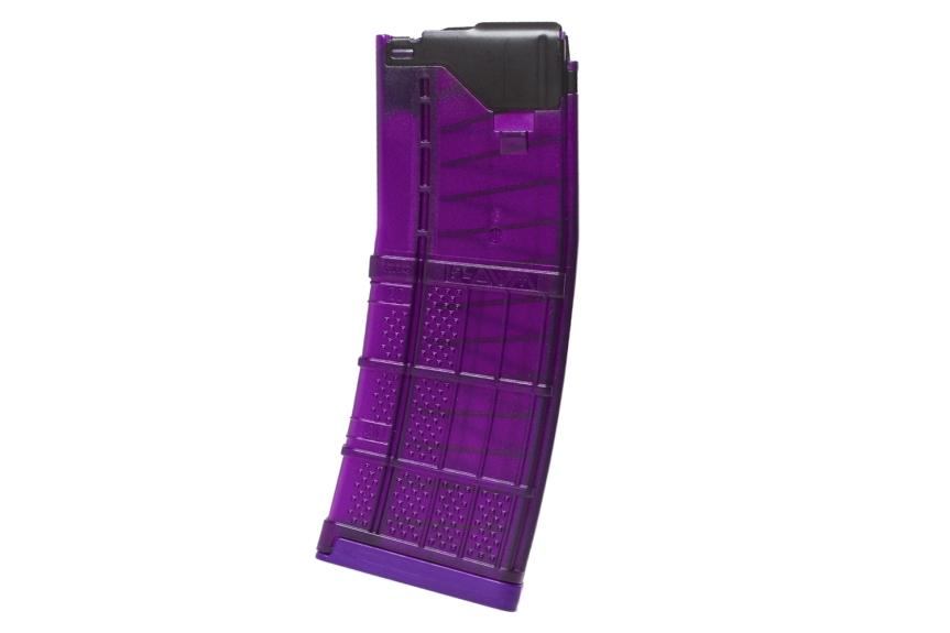 lancer systems l5awm purple translucent magazines 30 round california mags standard capacity ar15 magazines 5