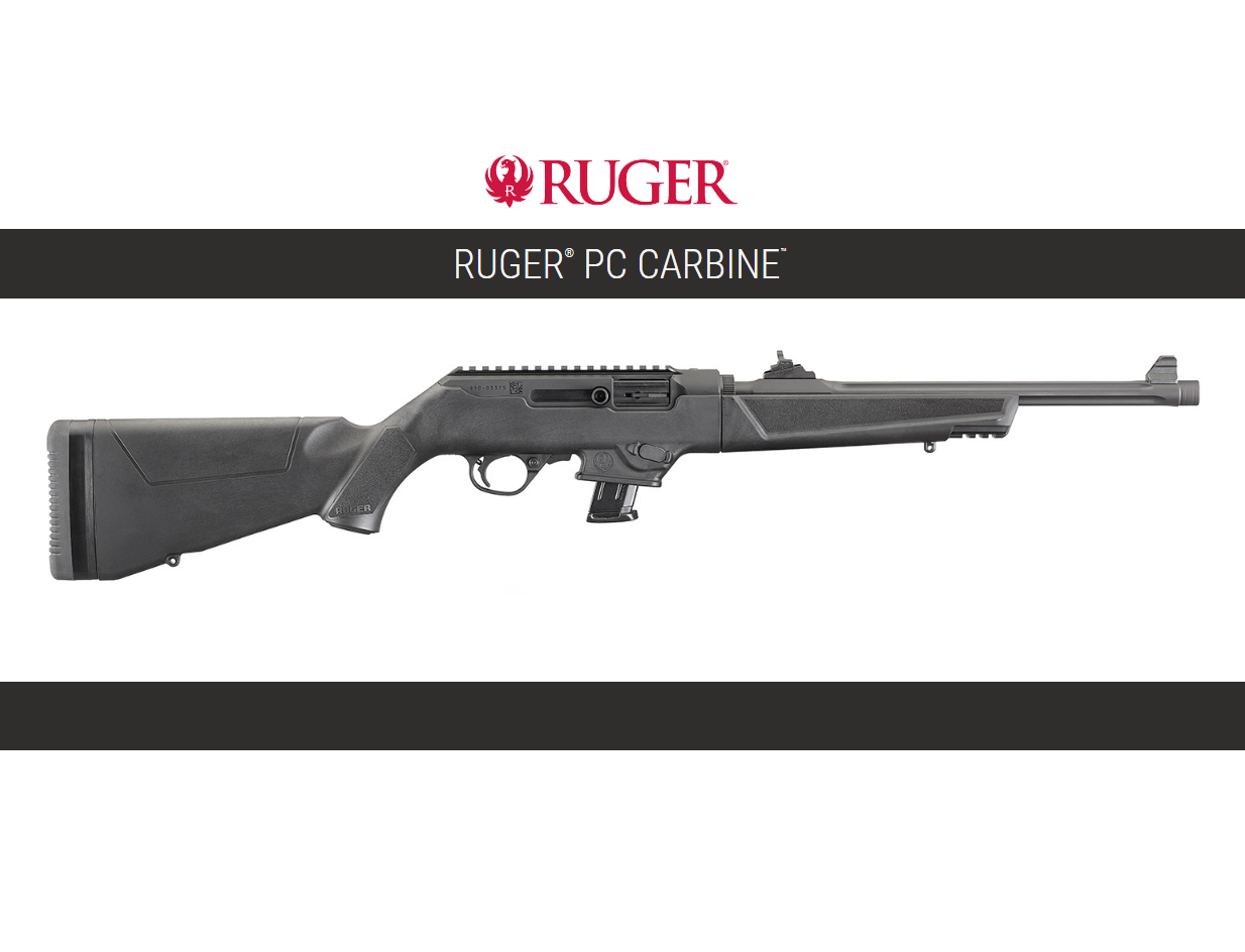 RUGER CHAMBERS THE PC CARBINE IN 40SW!!!