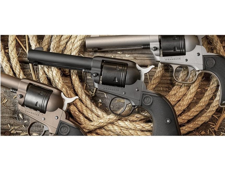 ruger wrangler 22lr single action revolver cowboy gun ruger wrangler.  1.jpg