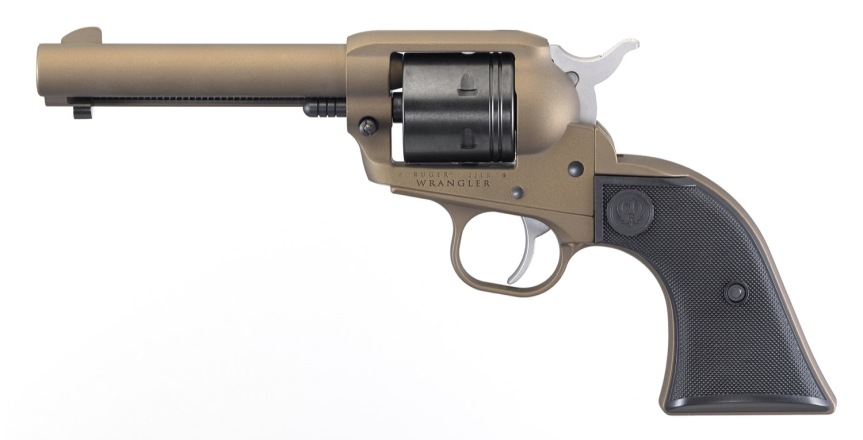ruger wrangler 22lr single action revolver cowboy gun ruger wrangler. 11