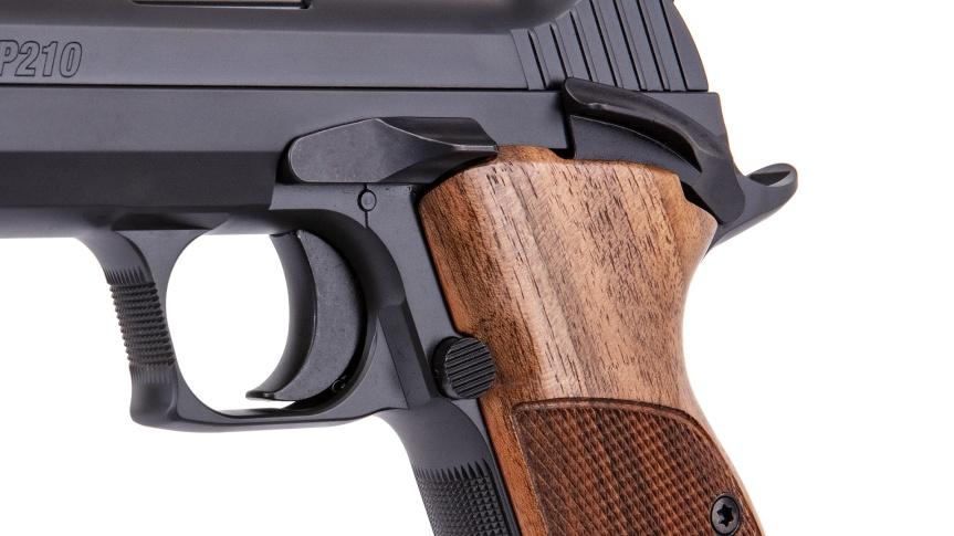 sig sauer p210 pistol 9mm stainless steel frame classic pistol match grade tactical pistol 5