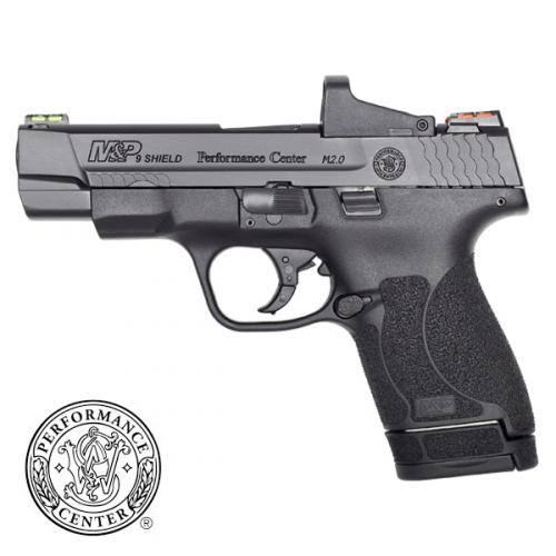 smith and wesson m p shield m2.0 lon slide rmr on shield optics cut smithn and wesson 1