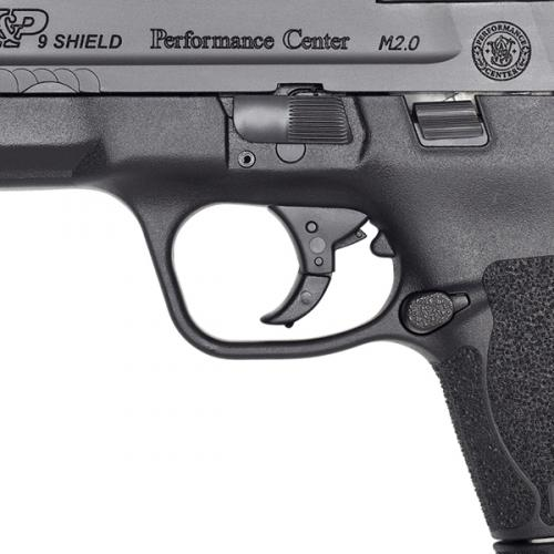 smith and wesson m p shield m2.0 lon slide rmr on shield optics cut smithn and wesson 4