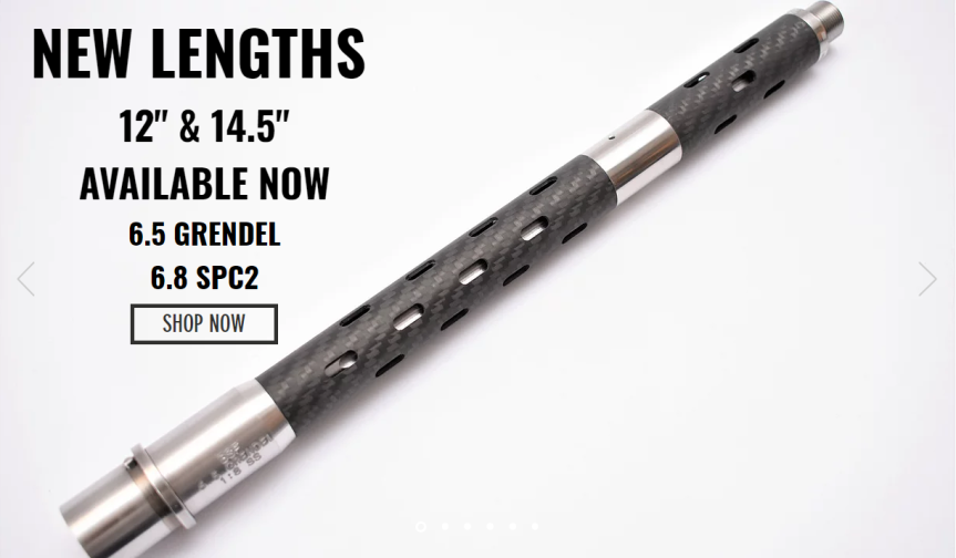 bsf barrels 6.8 spc II carbon fiber 6.5 grendel barrel the lightest ar10 and ultra light ar15 builds  1.png