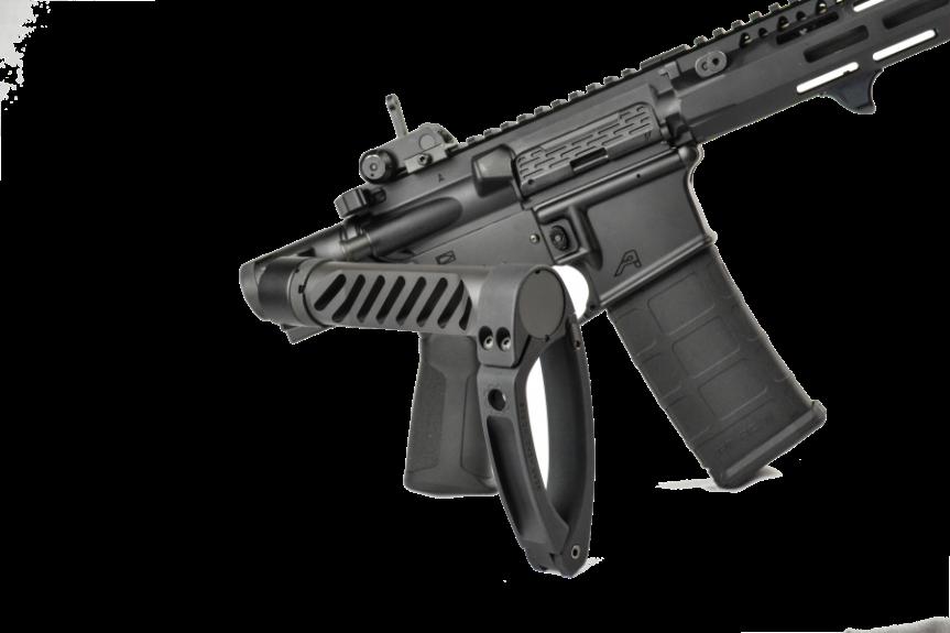 dead foot arms komodo tail hook adapter gear head works tail hook pistol brace onto buffer tube  2.png