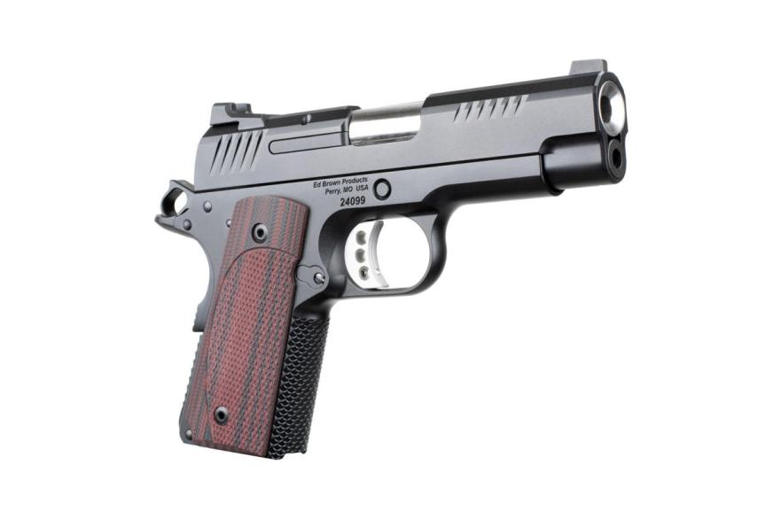 ed brown evo-cc09lw pistol 1911 9mm thinest carry pistol 1911 chambered in 9mm 3