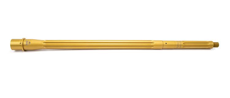 faxon firearms gold tin pvd coated ar15 barrels 223 wylde gold barrel
