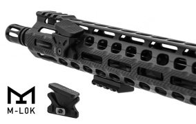 leapers UTG ar15 angled index mounts thumb rest for ar15 rails stop muzzle flip
