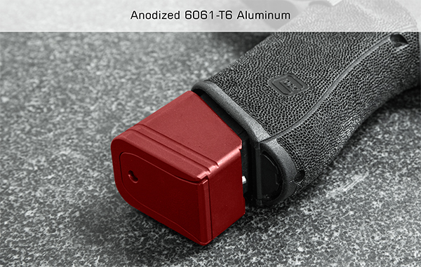 leapers utg glock plus 5 base pads for the glock 17 magazine extensions ipsc uspsa