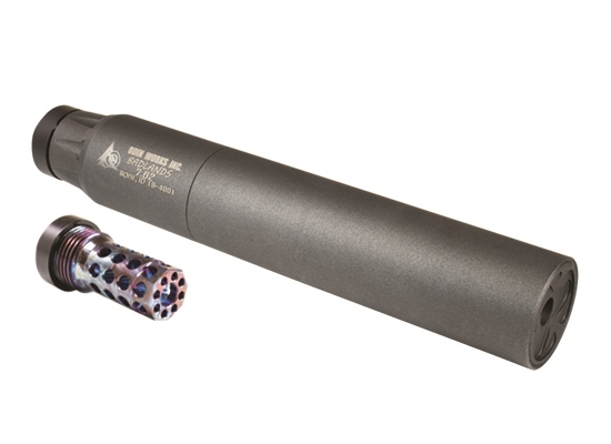 odin works quick detach suppressor badlands 762 silencer for the ar10 brimstone 556 for thear15 3