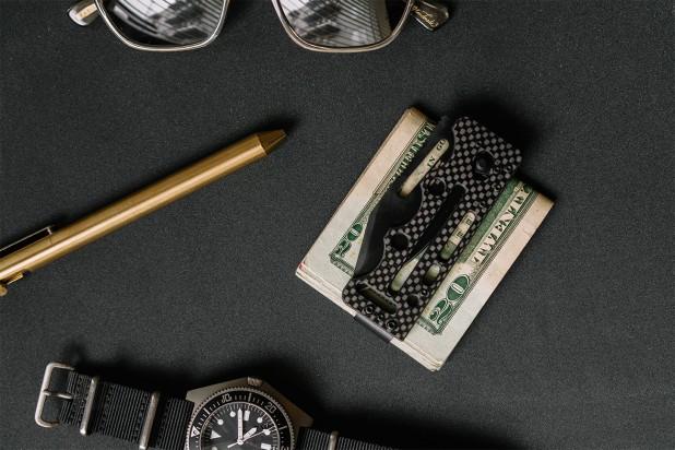 sog knives ultra C-TI blackout knife folding knife ultra light blade for carry 3