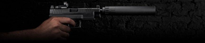 springfield armory xd-m osp 10mm optic rmr cut 10mm XDMT94510BHCOSP 7