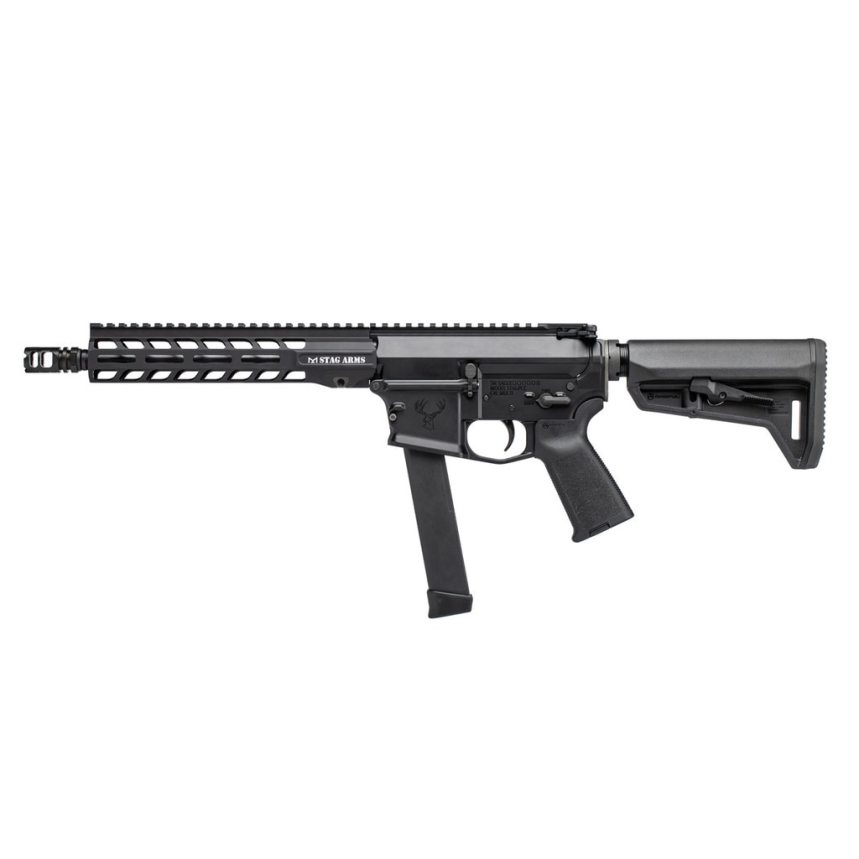 stag arms pxc-9 pistol caliber carbines 9mm sbr and ar9 pistol
