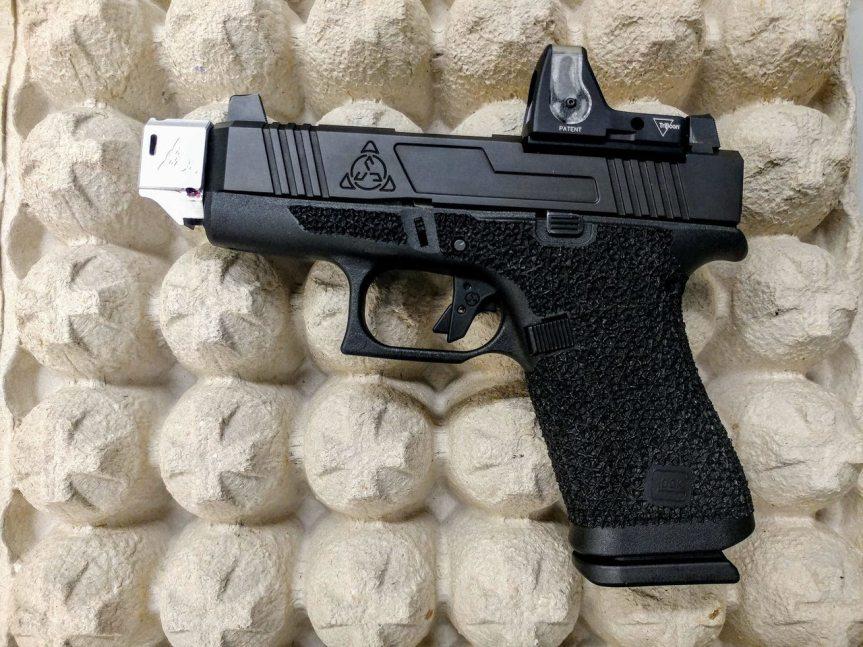 suarez international glock 43 compensator for the 43x glock 48 comp 9mm compensator for conceal carry  1.jpg