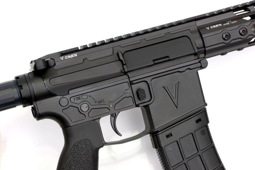 V seven weapon systems 18 inch valkyrie enlightened rifle ar15 224 valk 18ENLI 224 FLT 18ENLI 224 FLT-UR a