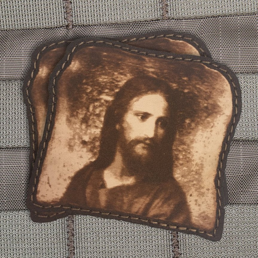 violent little machine shop jesus toast morale patch for your edc gear  2.jpg