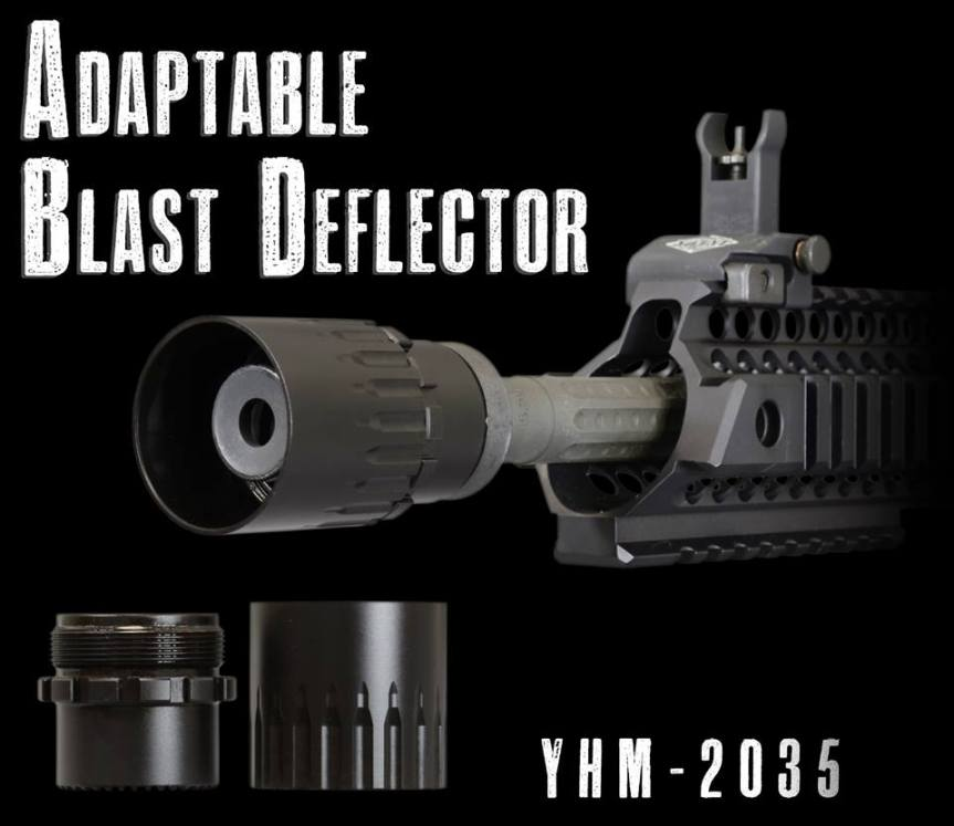 yankee hill machine adaptable blast deflector blast sheild for dead air griffin armament redirector sleeve linear comp for q plan b  a.jpg