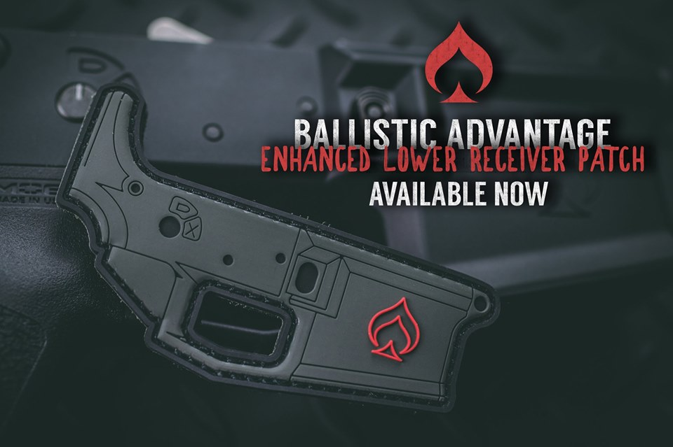BALLISTIC ADVANTAGE ADDS TO THEIR MORALE PATCH SERIES NEW LOWER RECEIVER PATCH!!!